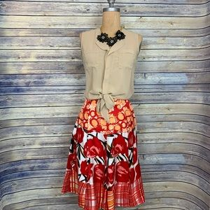 3 Pcs outfit lot Top, Skirt, Necklace